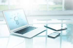 Laptop and Tablet concept