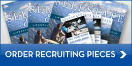 Order Recruiting Pieces Button